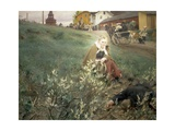 Fair at Mora, 1892 Giclee Print by Anders Leonard Zorn