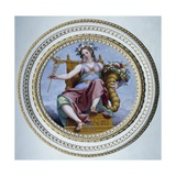Allegory of Public Happiness Giclee Print by Domenico Cresti