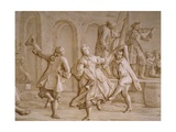Country Dance Giclee Print by Francesco Simonini