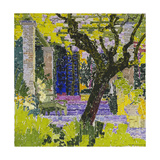 The Lively Village; Le Village Anime, C.1923 Giclee Print by Gustave Loiseau