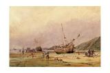 Calais Sands, 1831 Giclee Print by Francois Louis Thomas Francia