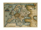 Theatrum Orbis Terrarum Giclee Print by Abraham Ortelius