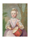 The Tambour Player Giclee Print