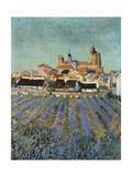 Saintes Maries De La Mer Giclee Print by Vincent van Gogh