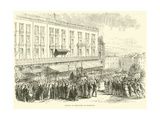Arrival of Delegates at Bordeaux, December 1870 Giclee Print