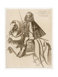 Charles Emmanuel I Giclee Print by Jacques De Fornazeris