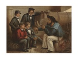 An Old Sailor's Yarn Giclee Print by William Dickes