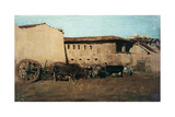 The Farmhouse II Giclee Print by Giuseppe De Nittis