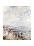 Posilipo, Naples Giclee Print by Franz Richard Unterberger