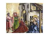 The Adoration of the Magi, 1444 Giclee Print by Konrad Witz