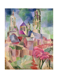 The Towers of Laon, 1911 Giclee Print by Robert Delaunay