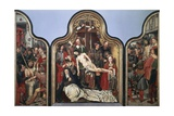 Oultremont Triptych, 1515-1520 Giclee Print by Jan Mostaert