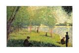 Study on La Grande Jatte Giclee Print by Georges Seurat