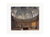 The King's Library, Buckingham House, 1818 Giclee Print by Francis Phillip Stephanoff