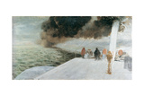 On the High Seas Giclee Print by Giuseppe De Nittis