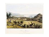 Port Marial: St. Mary'S, 1825 Giclee Print by James Hakewill