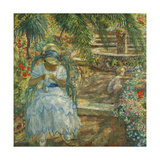 Under the Palm Trees; Sous Les Palmiers Giclee Print by Henri Lebasque
