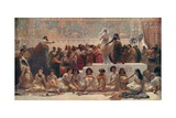The Babylonian Marriage Market Giclee Print by Edwin Long