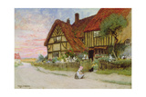 Evening Giclee Print by Arthur Claude Strachan