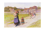 After School, 1867 Giclee Print by Henry Towneley Green