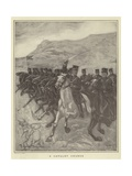 A Cavalry Charge Giclee Print by Fletcher C. Ransom