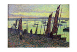 Boats at Camaret, 1893 Giclee Print by Maximilien Luce