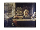 The Study, Ca 1875 Giclee Print by Antonio Mancini