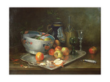 Still Life with Apples Giclee Print by Eugene Henri Cauchois