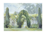 Yew Arches, Garsington Manor, 1997 Giclee Print by Ariel Luke