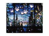Stained-Glass Window Giclee Print by Jacques Gruber
