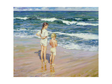 Beside the Seaside Giclee Print by Paul Gribble