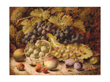 Still Life of Fruit Giclee Print by Oliver Clare