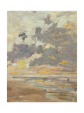 Large Sky, C.1888-95 Giclee Print by Eugene Louis Boudin