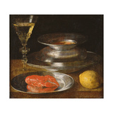 Still Life with Lobster, C.1630 Giclee Print by Sebastian Stoskopff