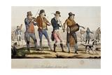 Ttroubadours Giclee Print by Francois Nicolas Martinet