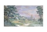 Landscape Giclee Print by Pietro da Cortona