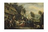 Fair in Flanders Giclee Print by Cornelis Dusart