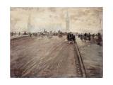 Westminster Bridge I Giclee Print by Giuseppe De Nittis