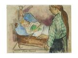 Bedtime Giclee Print by Emile Bernard