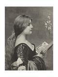 Venetian Evensong Giclee Print by Jules Joseph Lefebvre