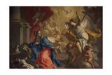 Annunciation Giclee Print by Francesco de Mura