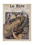 La Bete Puante Giclee Print by Henri Lanos