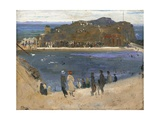 The Bathing Pool, North Berwick, 1919 Giclee Print by Sir John Lavery