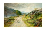 The Mountains of Moidart Giclee Print by John MacWhirter