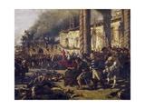 Altamura Massacres Giclee Print by Michele Cammarano