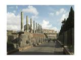 Flavian Amphitheatre Giclee Print