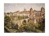 L'Yonne Landscape, 1907 Giclee Print by Emile Bernard