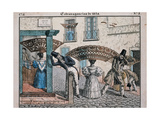 Extravagances of 1834 Giclee Print by Cesar Bacle