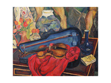 The Violin Case, 1923 Giclee Print by Marie Clementine Valadon