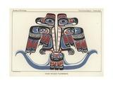 Haida Double Thunderbird Giclee Print